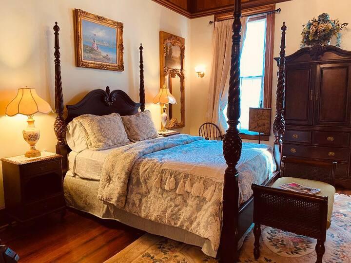 The Iris Room at  Hogan House, a historic 1890 B&B