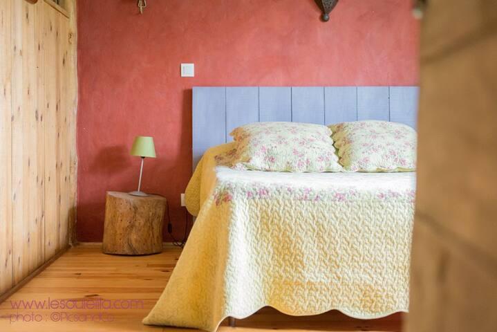 chambre familiale du Midi - Renneville - Bed & Breakfast