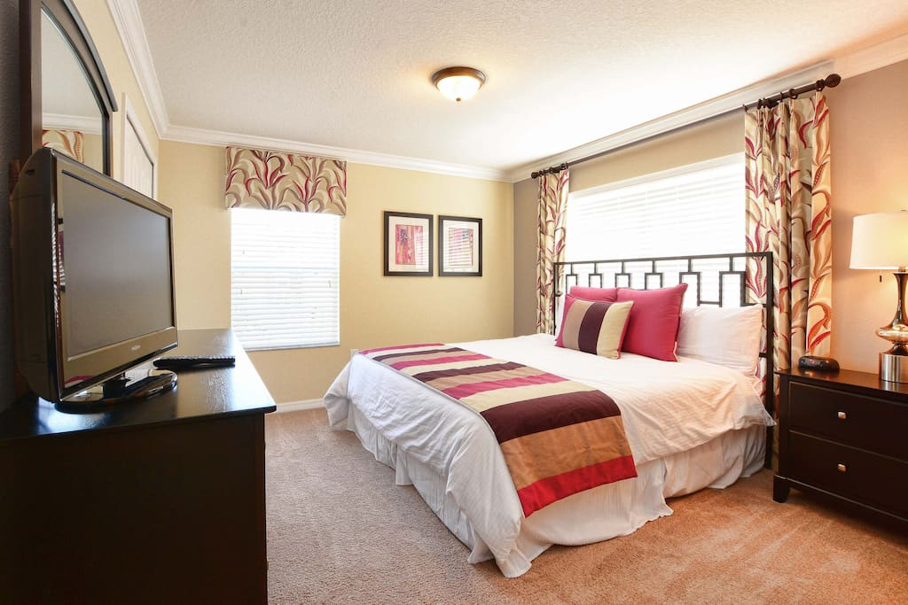 Suite master - King bed - Lake view