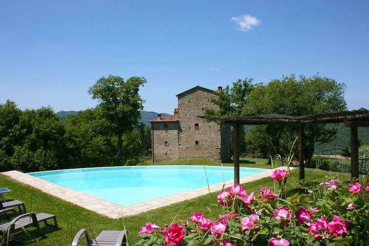 TORRE DI VIGNALE - Badia Tedalda - Villa