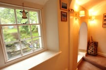 Lots of little old Cornish windows