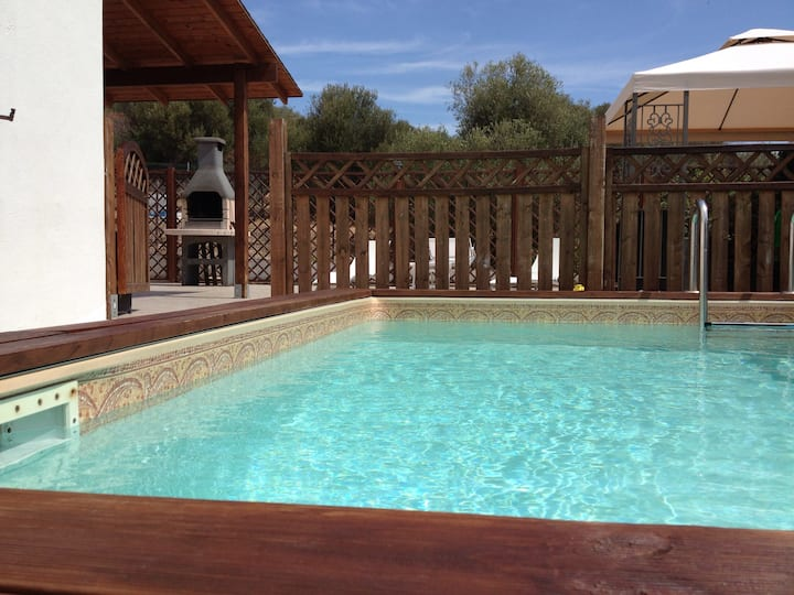 Villa with pool, sea 500m, Sanitized with ozone