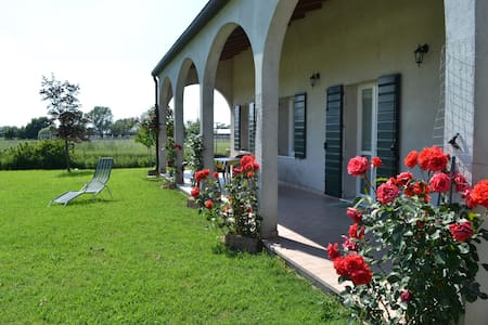 House 57 sqm with garden, patio, private parking - Guarda Veneta - Rumah