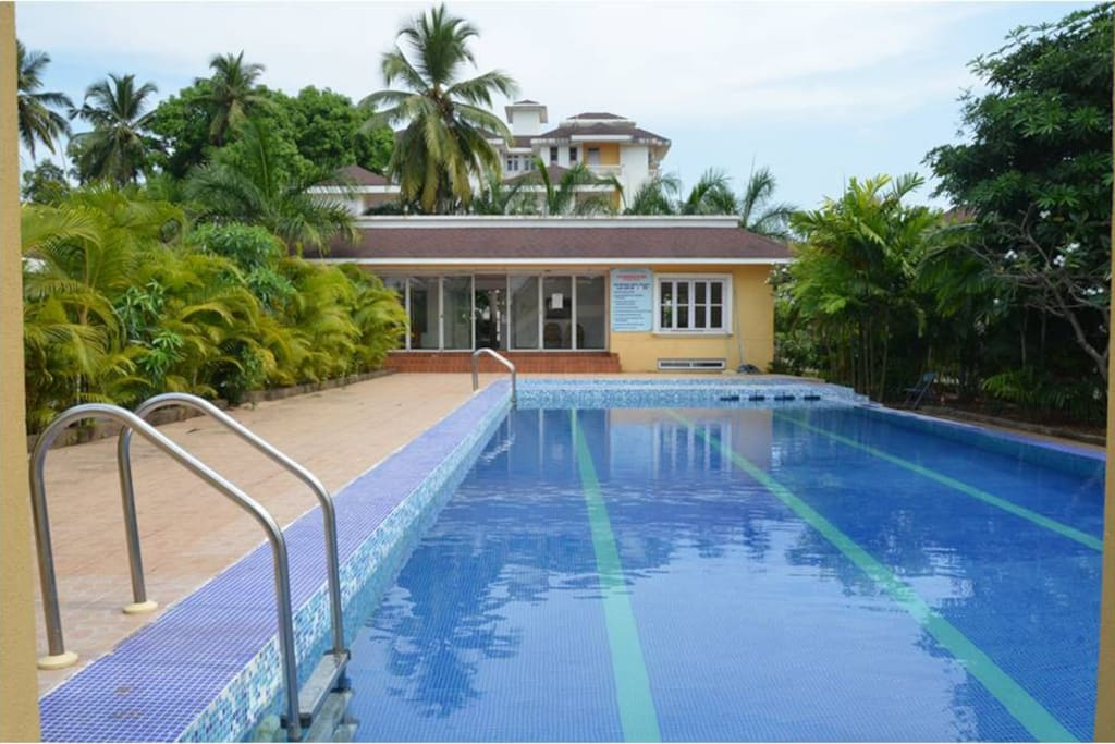 Swimming Pool and Club House available to guests