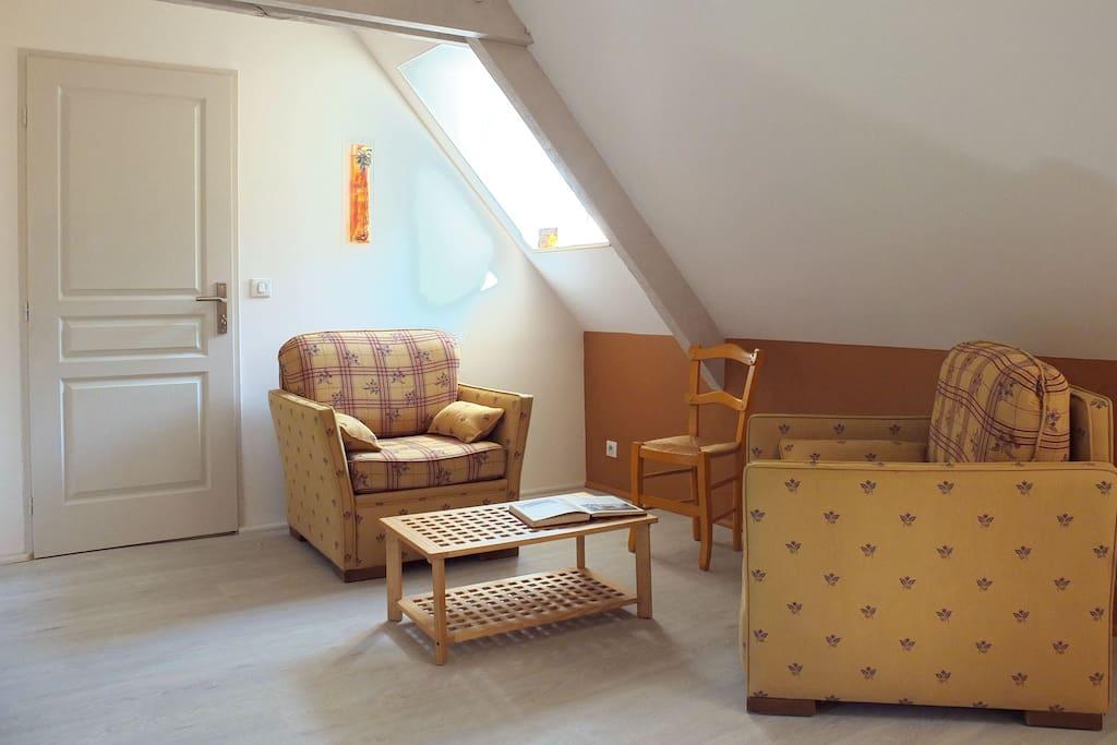 Suite familiale La Plaine - salon
