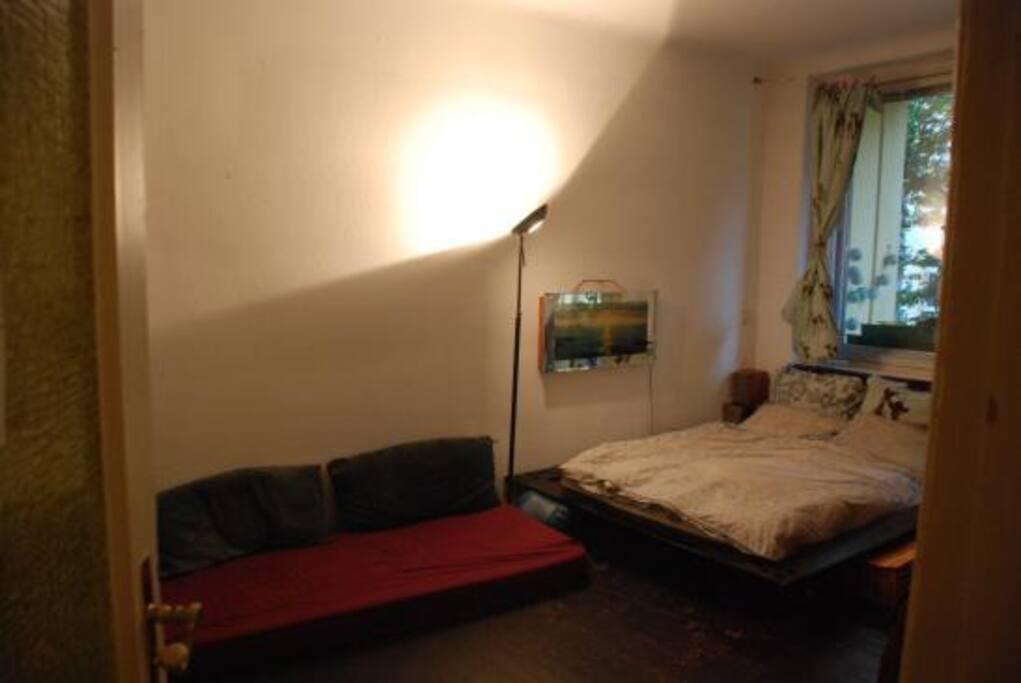 The room (from the door)