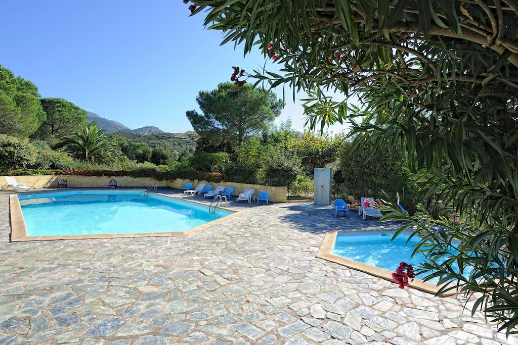 Villa 5 pers avec piscine h user zur miete in saint for Piscine saint florent