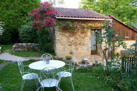 Chambre Safran, cuisine, terrasse - Bed & Breakfast