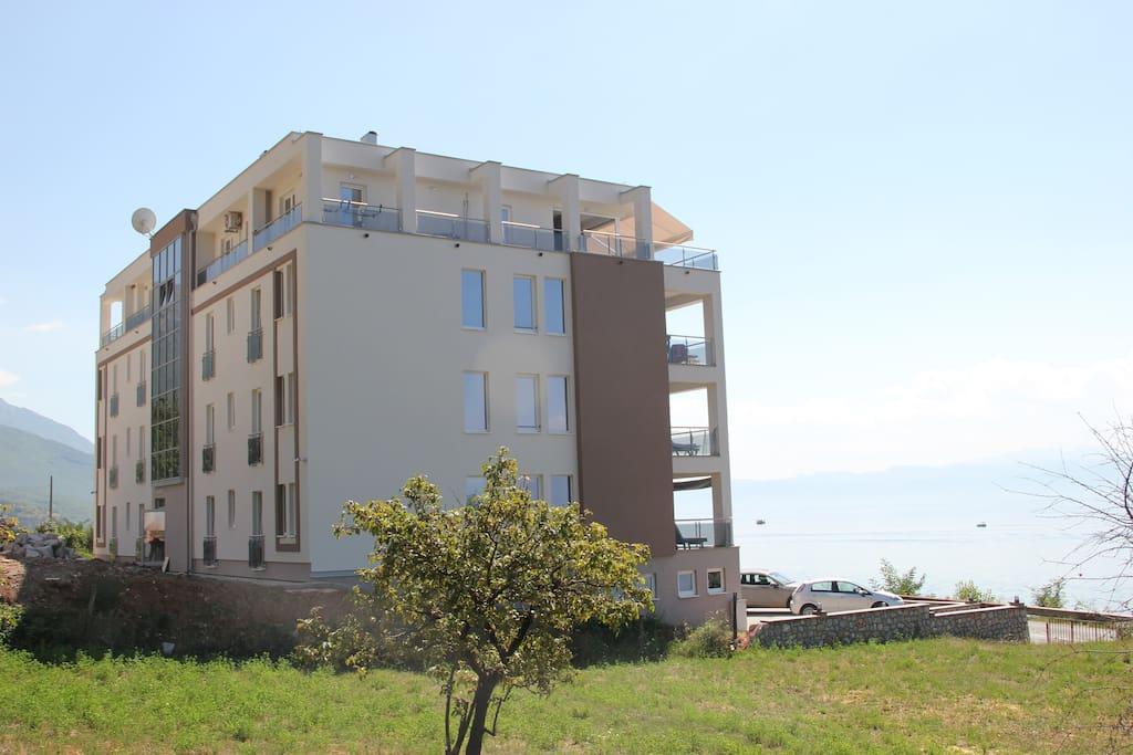 Het appartementencomplex