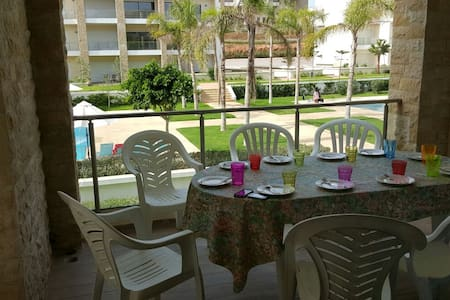 appartement plage des nations - Rabat