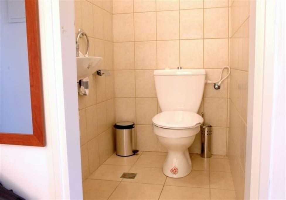 Half bath (located on first floor)