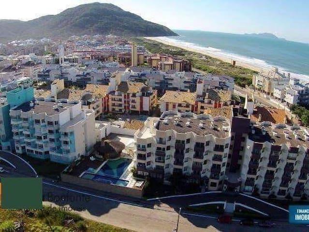 Apartamento de frente para o mar nos Ingleses