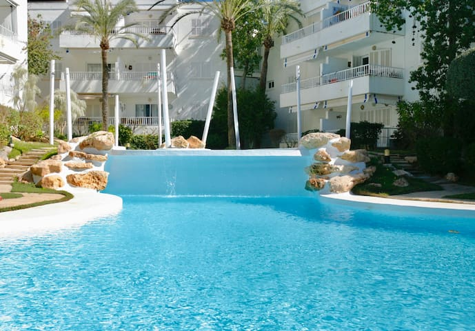 Beautiful apart. for 4 next to the beach and pool - Santa Ponça - Wohnung
