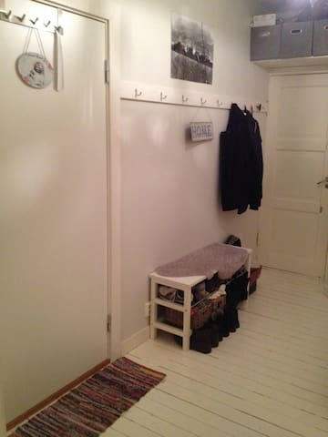 Big space for jackets  , shoes and bags.