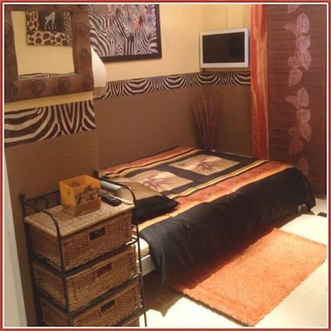 Belle chambre pour 2 personnes - Chamby - House