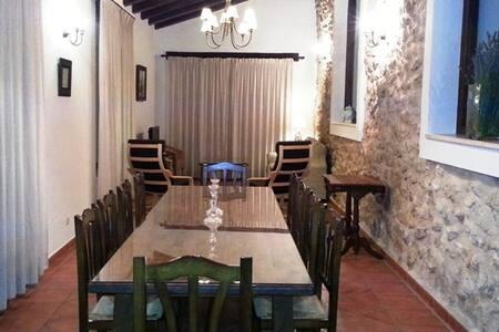 Casa 5  Alquería del Pilar, 6-10 p - Banyeres de Mariola