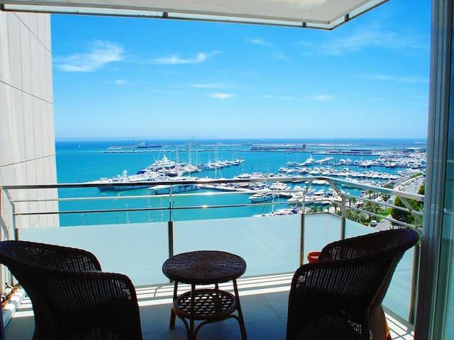 Apartamento en primera linea de mar - Palma