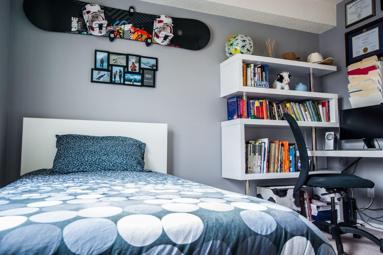 Enjoy the coziness of a premium memory foam mattress