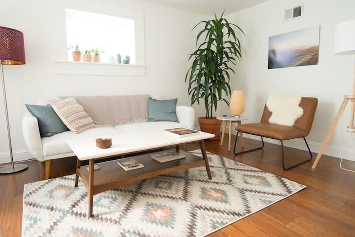 Charming Garden Apartment in Potrero Hill