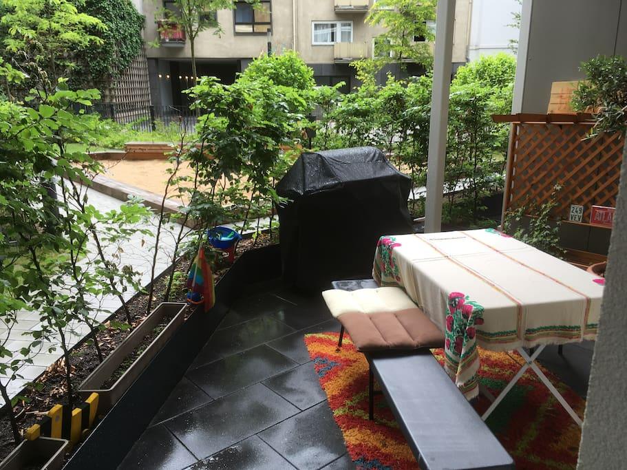 Inner courtyard Terrace