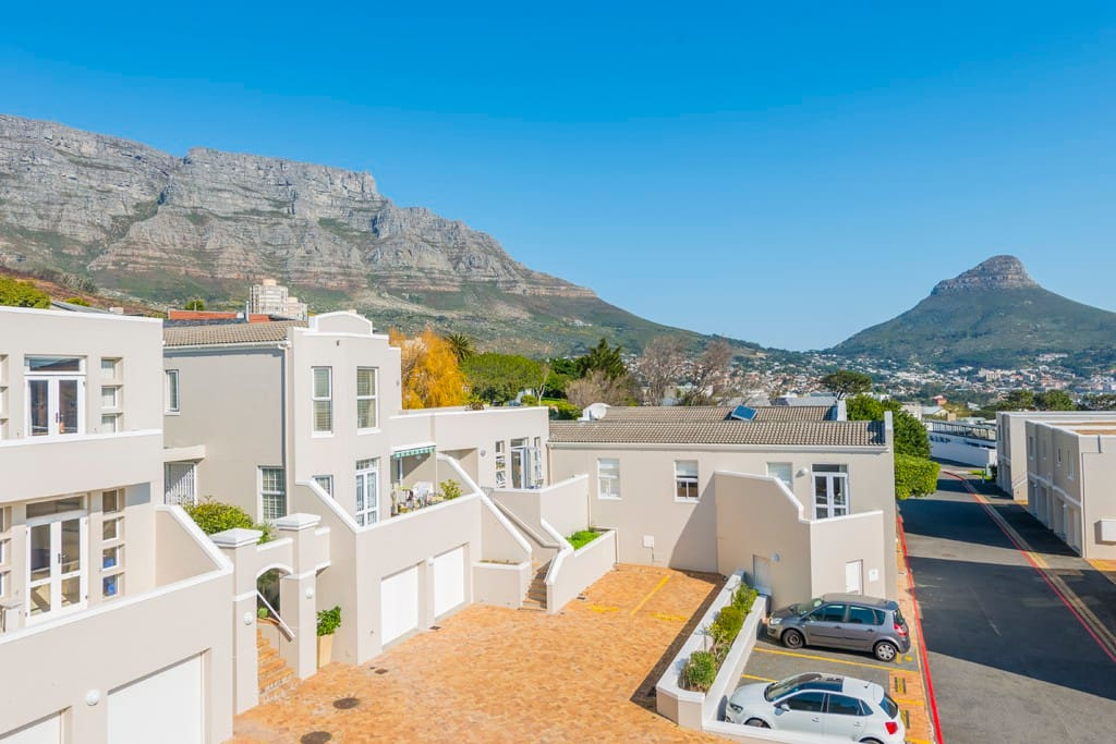 View of Lion's Head and Table Mountain from the balcony