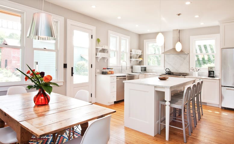 Our Bright and Open Kitchen