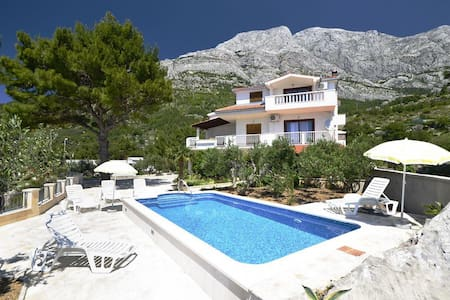 Studio flat with terrace Baška Voda, Makarska (AS-12442-b) - Baška Voda - 其它