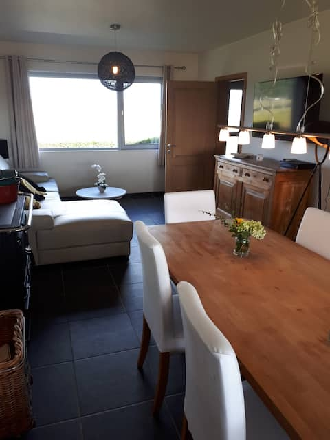 Ham-sur-Heure : maison, vue imprenable, plein sud