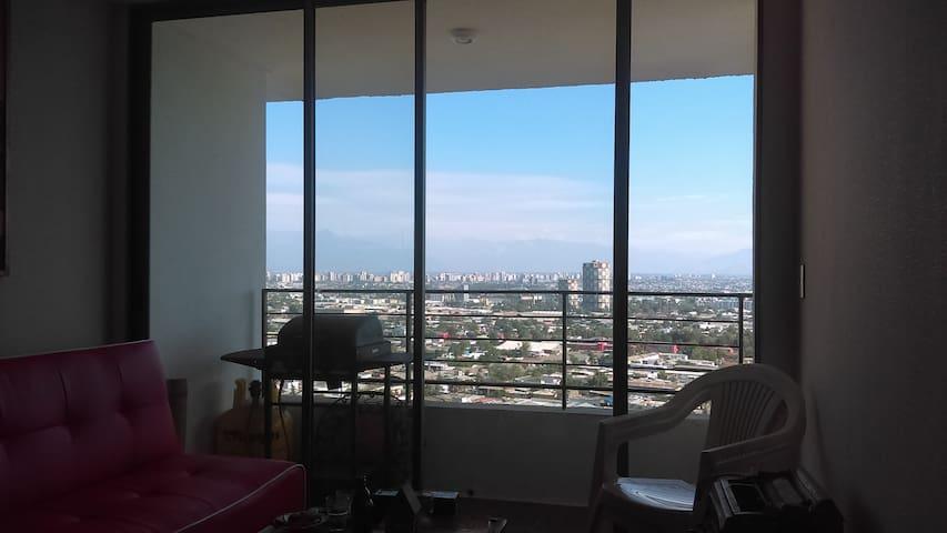 departamento nuevo con hermosa vista - Santiago