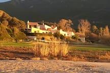 """résidence, vue de la plage la """"Liscia"""""""