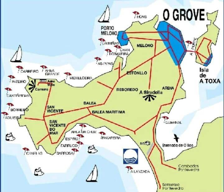 Private room in O Grove Pontevedra Galicia Spain