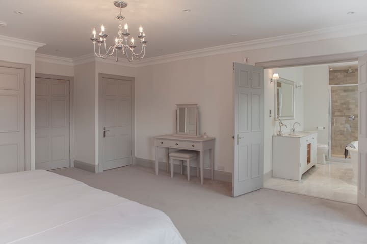 Each bedroom is exquisitely decorated