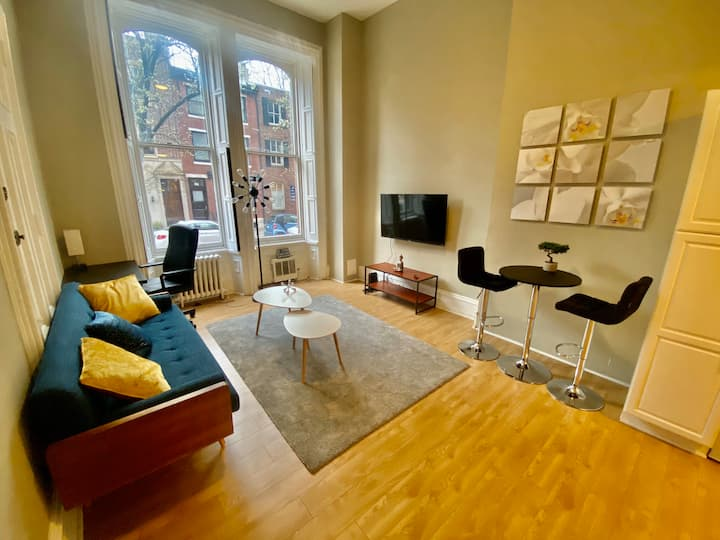 ✪Historic townhouse✪ 1-bedroom ✪Rittenhouse Square