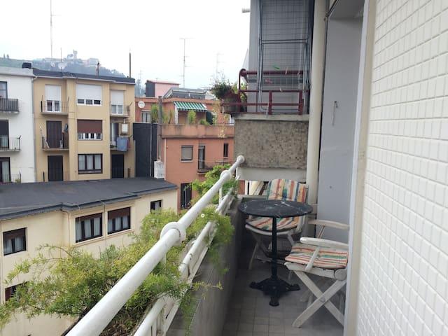 Habitación doble privada en San Sebastián - Donostia - Apartamento