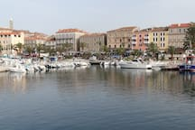 Le port de Propriano