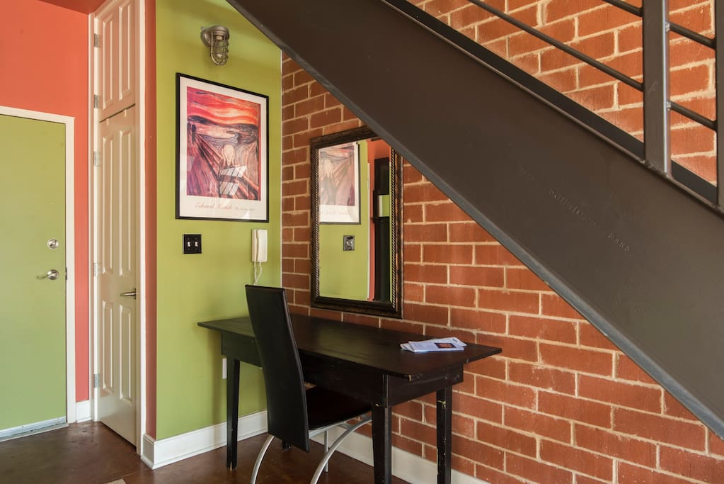 """""""This loft is right in the heart of Charlotte. You cannot beat the location. """" - Margo & Bradley"""