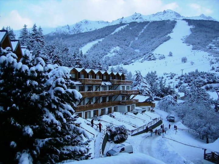 Patagonia view apartment at Bariloche ski hill