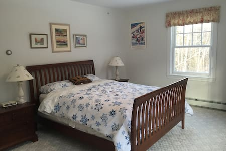 Sunny Master Bedroom & Private Bath - Carrabassett Valley