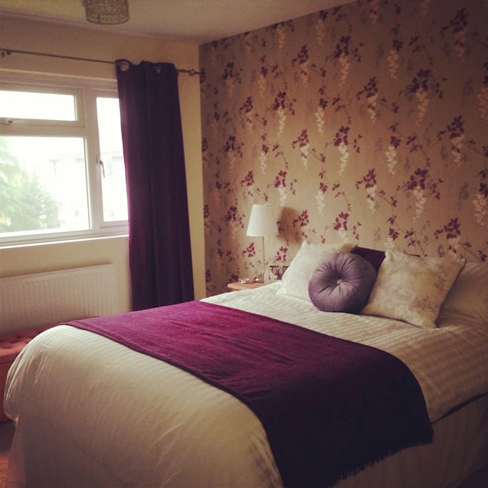 Main bedroom - there is the option of this or another double bedroom (picture to follow), depending on availability.