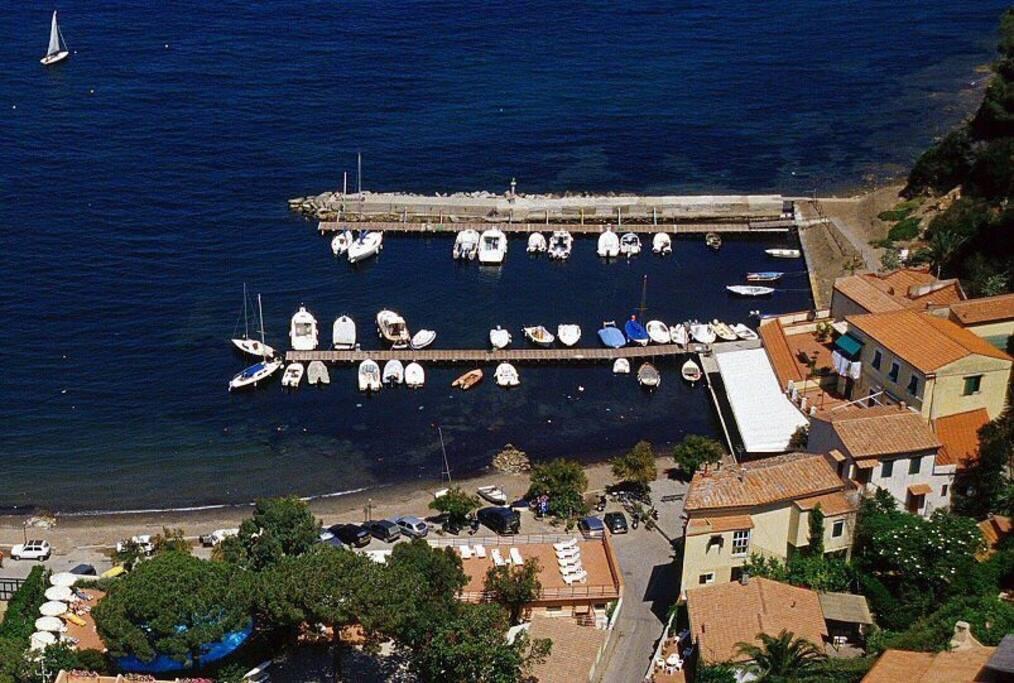 Porto di Magazzini visto dall'alto