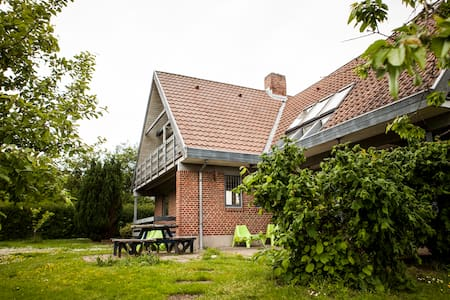 Large private house. Garden&Forrest - Hammel