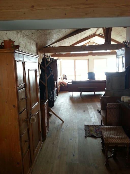 Grand espace en Loft