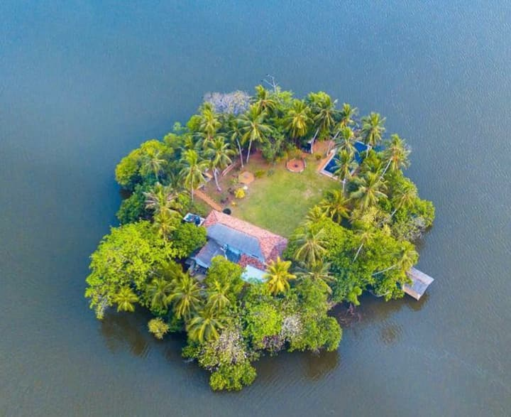 The Island on Bolgoda for Two
