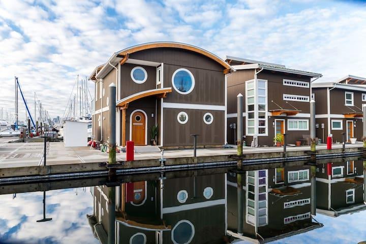 Oceanfront Float Home