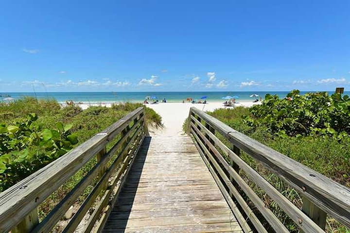 2 bdrm peaceful beach home Spotless - Bradenton Beach - Flat