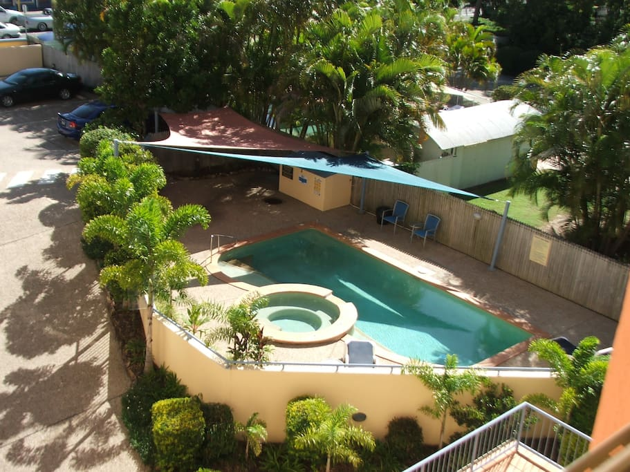 Pool and  spa -heated in winter