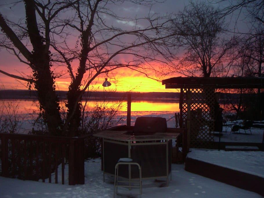 Another morning sunrise to enjoy!
