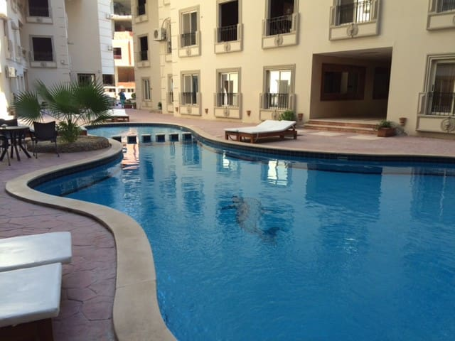 ONE BEDROOM APARTMENT WITH OUTDOOR PRIVATE POOL
