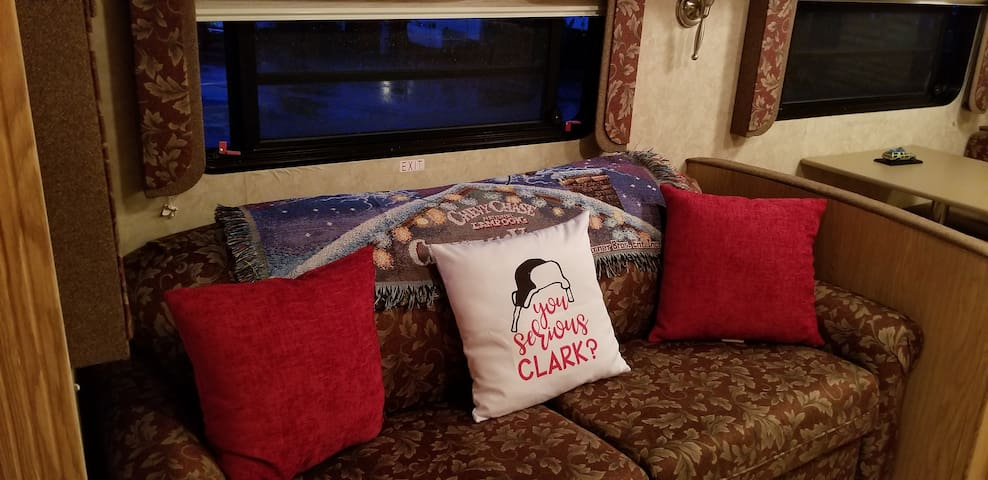 Check out the Griswold themed touches!