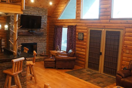 Yatesville Lake Luxury Cabin Rental - Louisa - Mökki